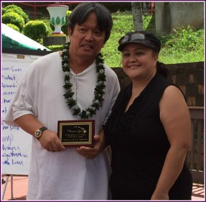 Photo of Thomas Lum and Roxanne Bolden