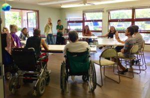 Photo of PHN presentation at Hale Kuhao