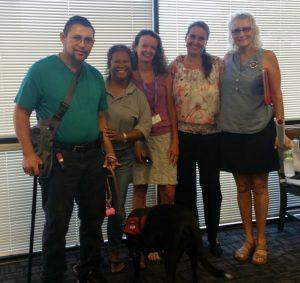 Photo of staff at Maui training