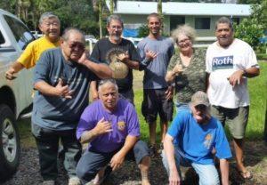 Photo of Hilo Waiakea Lions Club members