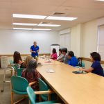 Priscilla Wong, Island Director for Electronic Caregiver Unit presents to Hui Malama Po'o and BIA (Brain Injury Association)