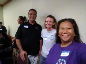 Photo of Brian, Kathleen, and Lani