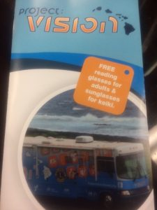 Photo of Project Vision brochure