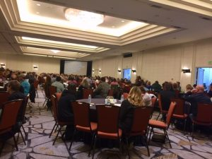 Photo of APRIL Conference session attendees