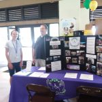 Photo of Kathleen and Brian at AILH table
