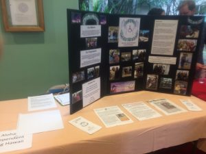 Photo of AILH table at Diabetes Day