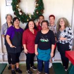 Photo of staff at holiday party