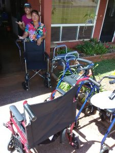 Photo of donated equipment