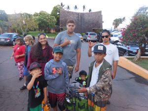 Photo of Molokai walking team