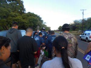 Photo of Molokai Charity Walk along the road